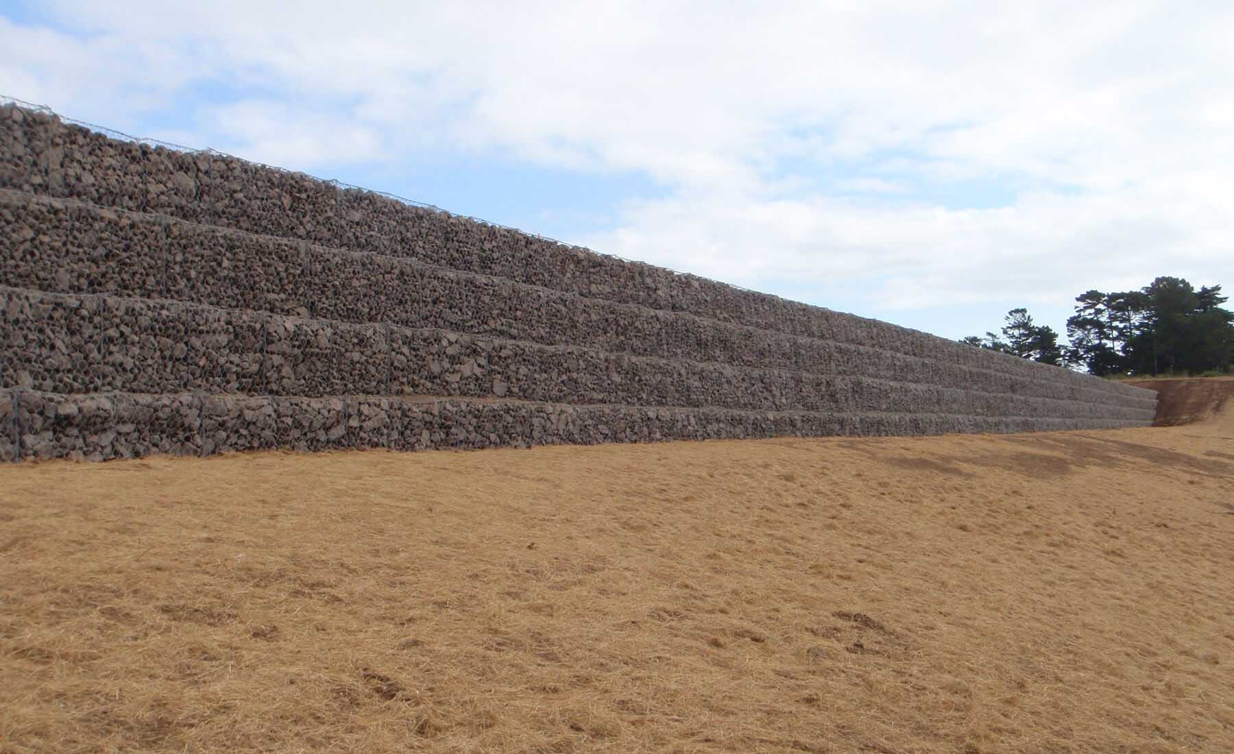 Gabion Block Wall