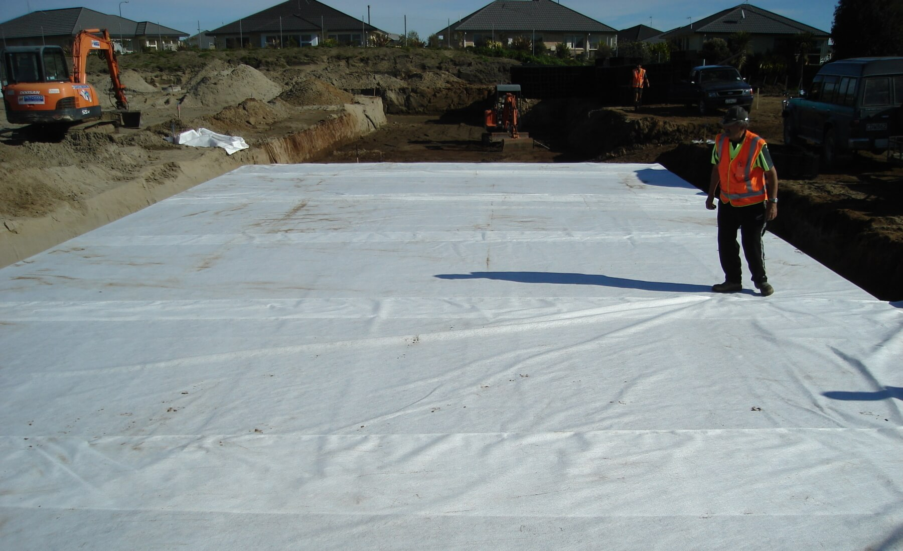 RainSmart Geotextile Wrap