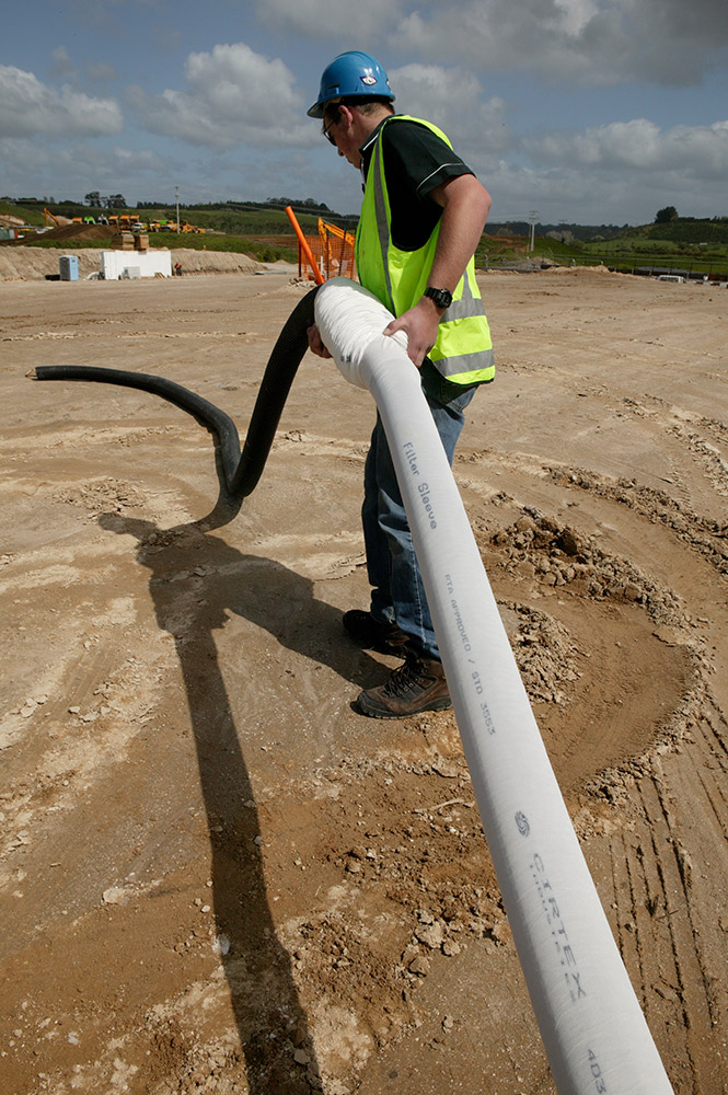 FilterSleeve Pipe Application