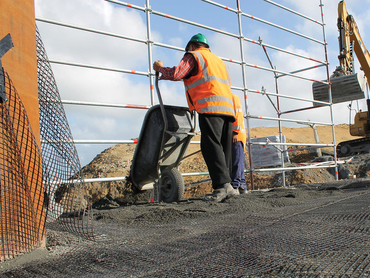 Geogrid vs Steel