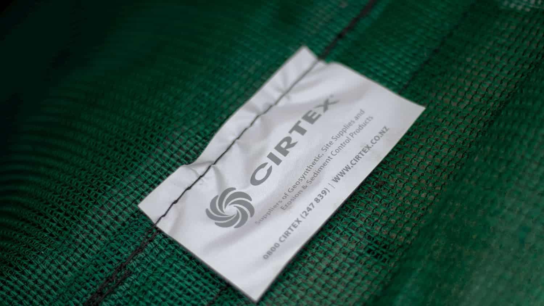 Cesspit Filter Bag Label