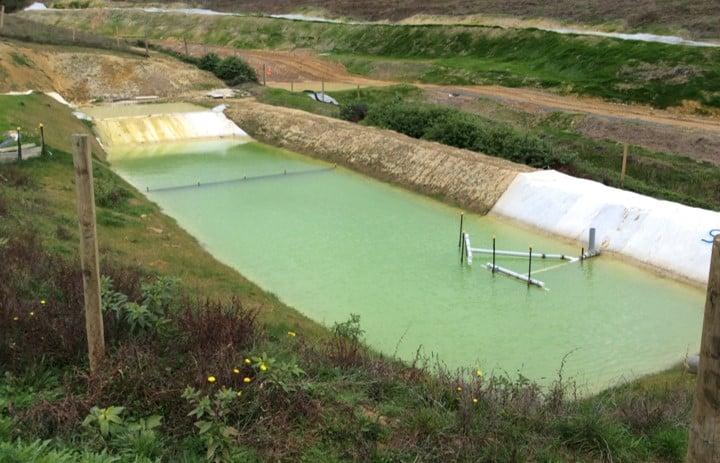 sediment-pond