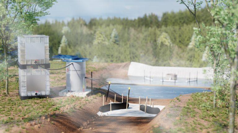portafloc-sediment-pond