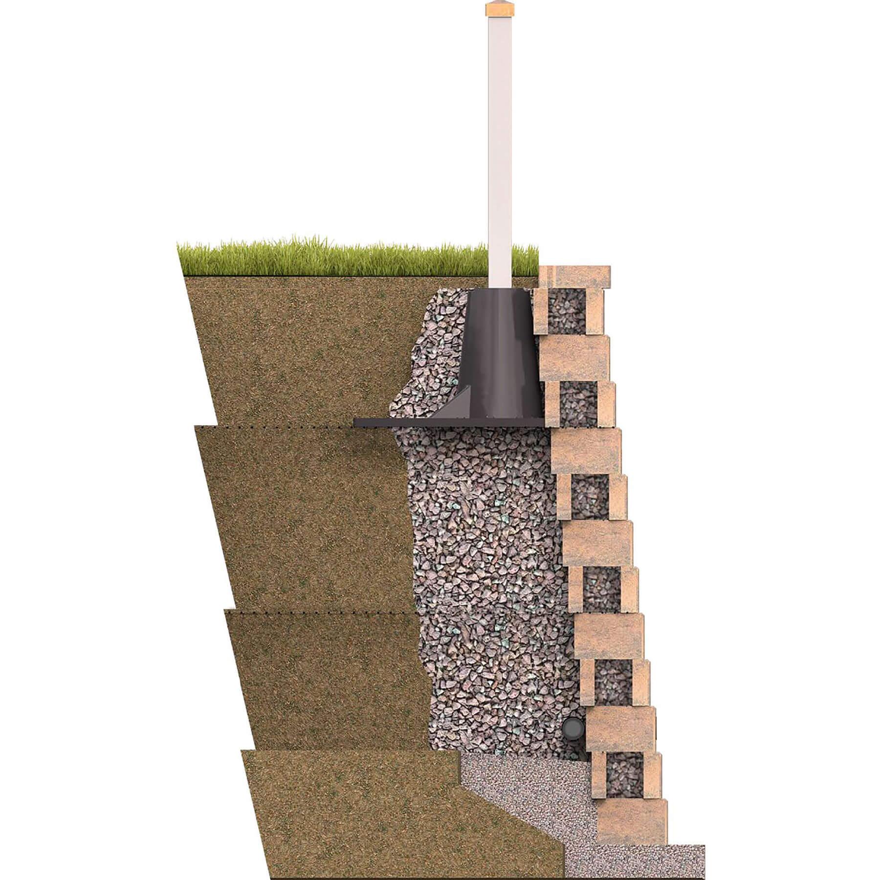 Sleeve-It Retaining Wall