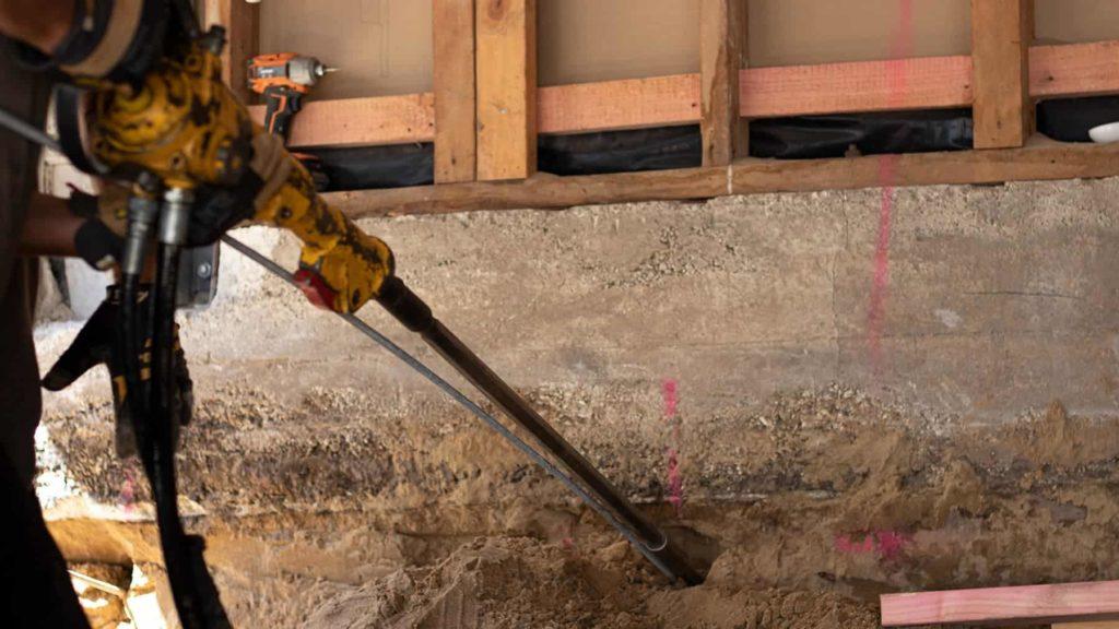 Temporary Excavation Stabilisation – Platipus® Civil Anchors