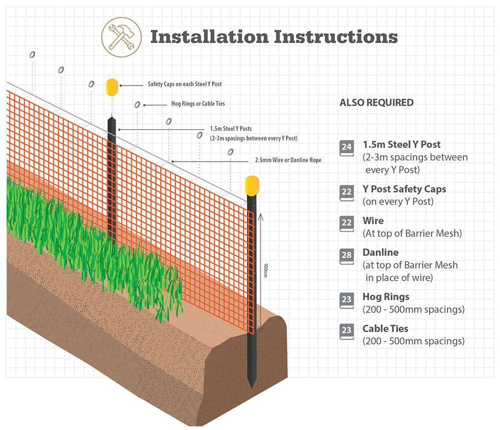 barrier-mesh-installation